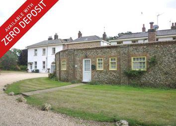 Thumbnail 1 bedroom bungalow to rent in West Raynham Road, South Raynham, Fakenham