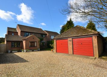 Thumbnail 4 bed detached house for sale in Dereham Road, Mattishall, Dereham