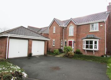 Thumbnail 4 bed detached house for sale in Royds Close, Tottington