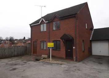 Thumbnail 2 bed semi-detached house for sale in Mountview Close, Mansfield, Nottinghamshire
