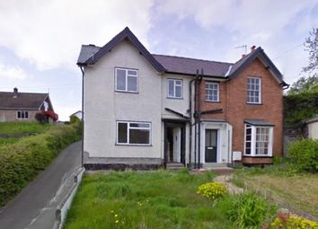 Thumbnail 3 bed semi-detached house to rent in Castle Bank, Knighton, Powys