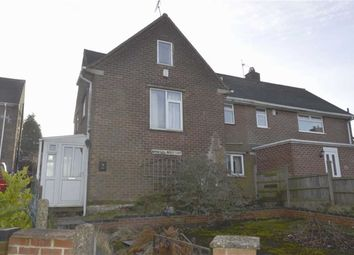 Thumbnail 3 bedroom semi-detached house for sale in Monsal Crescent, Tibshelf, Alfreton
