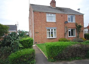 Thumbnail 2 bed semi-detached house for sale in Branches Lane, Holbeach, Spalding