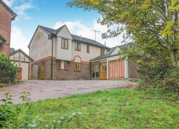 Thumbnail 4 bed detached house for sale in Old Rope Walk, Haverhill