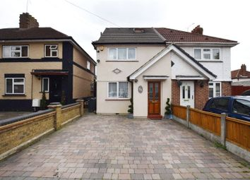 Thumbnail 3 bedroom semi-detached house for sale in Clayton Road, Rush Green, Essex