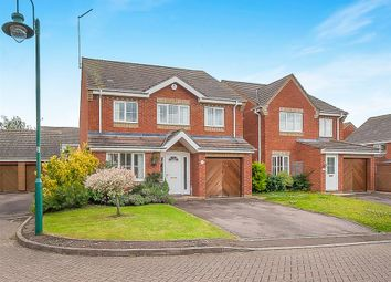 Thumbnail 4 bedroom detached house for sale in Appleton Close, Hampton Hargate, Peterborough