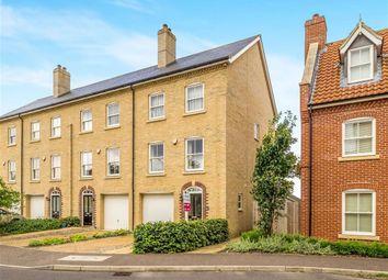 Thumbnail 3 bedroom end terrace house for sale in St Michaels Avenue, Aylsham, Norwich