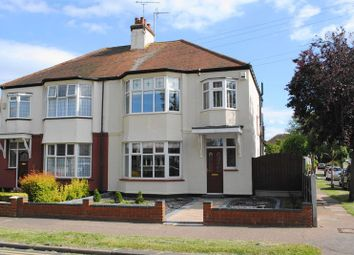 Thumbnail 3 bed semi-detached house to rent in Western Road, Leigh-On-Sea