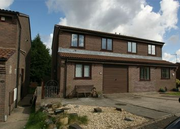 Thumbnail 3 bed semi-detached house for sale in St Peters Avenue, Fforestfach, Swansea