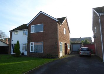 Thumbnail 2 bedroom semi-detached house for sale in Ladycroft, Wellington, Telford
