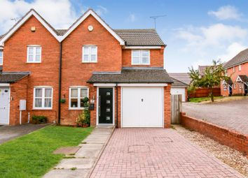 Thumbnail 3 bed semi-detached house for sale in Devonshire Close, Cawston, Rugby