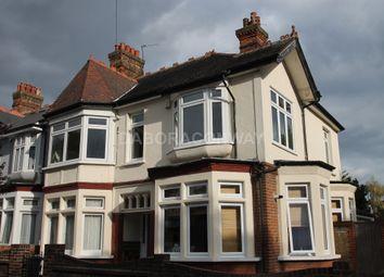 Thumbnail 3 bed flat to rent in Lyndhurst Drive, Leyton