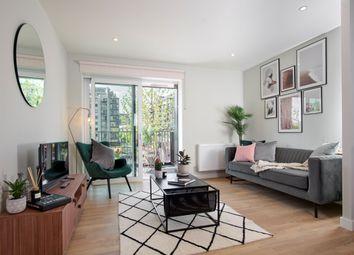 Thumbnail 1 bedroom flat to rent in Windlass Apartments, Hale Wharf, Tottenham Hale