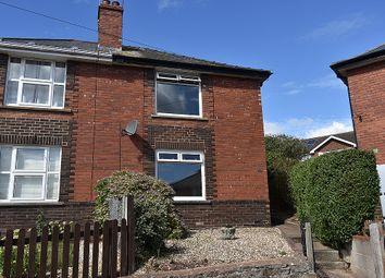Thumbnail 2 bedroom semi-detached house for sale in Hurst Avenue, St Loyes, Exeter