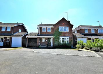 Thumbnail 4 bed detached house for sale in Rosemoor Drive, East Hunsbury, Northampton
