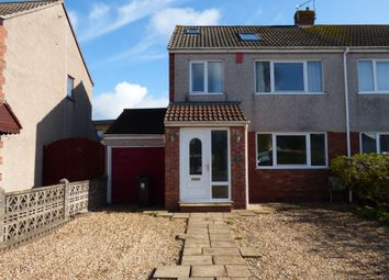 Thumbnail 4 bedroom semi-detached house to rent in Holmwood Close, Winterbourne, Bristol
