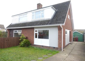 Thumbnail 3 bed semi-detached house for sale in Woodclose Road, Scunthorpe