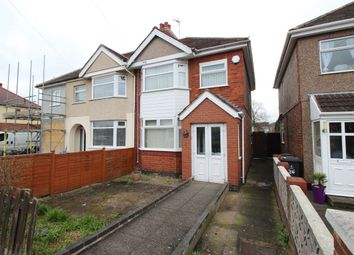 Thumbnail 3 bed semi-detached house for sale in Arbury Avenue, Bedworth
