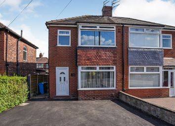 Thumbnail 3 bed semi-detached house for sale in Hollinwood Avenue, Chadderton, Oldham