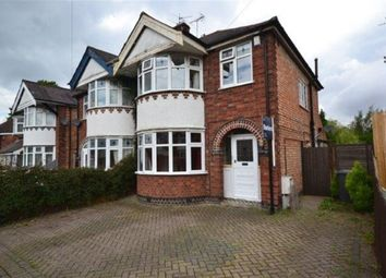 Thumbnail 3 bedroom semi-detached house to rent in Overdale Road, Knighton, Leicester