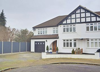 Thumbnail 4 bed semi-detached house for sale in Brookmead Avenue, Bromley, Kent