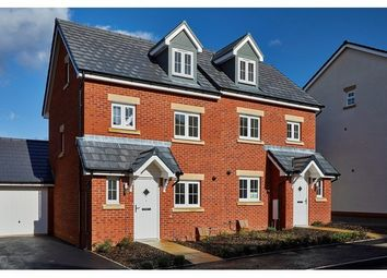 Thumbnail 3 bed semi-detached house for sale in Cloakham Lawns Cloakham Drive, Axminster, Devon