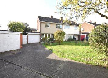 Thumbnail 3 bedroom semi-detached house for sale in Broadfield, Harlow