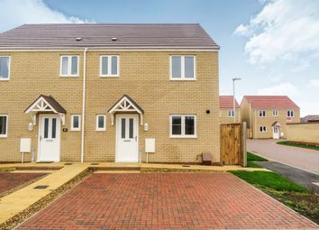 Thumbnail 3 bed semi-detached house for sale in Rosewood Close, Whittlesey, Peterborough