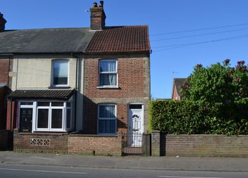 Thumbnail 3 bed end terrace house for sale in High Road, Trimley St. Mary, Felixstowe
