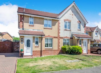 Thumbnail 3 bed semi-detached house for sale in Elm Drive, Chapelhall, Airdrie