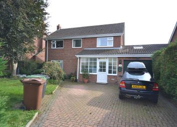 Thumbnail 4 bed detached house for sale in Aslacton, Norwich