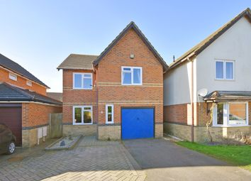 Thumbnail 3 bed detached house for sale in Woodcock Gardens, Hawkinge, Folkestone