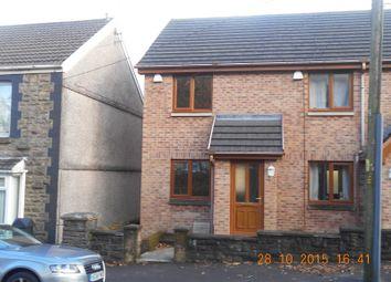 Thumbnail 2 bed end terrace house to rent in Hope Cottages Duffryn Road, Maesteg, Bridgend.