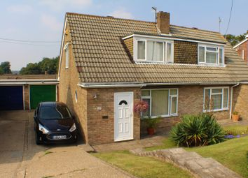 Thumbnail 2 bed semi-detached house for sale in Nursery Lane, Dover