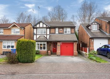 Thumbnail 4 bed detached house for sale in Woodthorn Close, Warrington