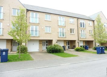 Thumbnail 5 bedroom town house for sale in Skipper Way, Little Paxton, St. Neots