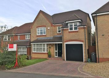 Thumbnail 4 bedroom detached house for sale in Badgers Croft, Chesterton, Newcastle Under Lyme, Staffs