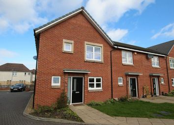 Thumbnail 3 bed end terrace house for sale in Almora Drive, Dumbarton