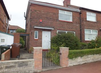 Thumbnail 2 bed semi-detached house to rent in Weidner Road, Benwell, Newcastle Upon Tyne