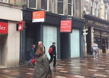 Thumbnail Retail premises to let in Port Street, Stirling