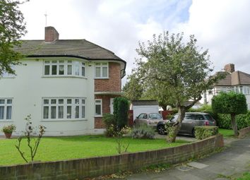 Thumbnail 3 bed semi-detached house to rent in Timbercroft, Epsom