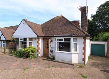 Thumbnail 2 bedroom detached bungalow for sale in Willingdon Close, Eastbourne