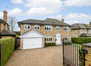 Thumbnail 5 bed detached house for sale in The Ridings, Cobham