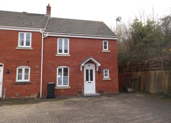 Thumbnail 3 bed end terrace house for sale in Medley Court, Exeter