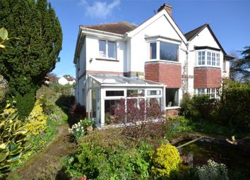 Thumbnail 3 bedroom semi-detached house for sale in East Budleigh Road, Budleigh Salterton, Devon