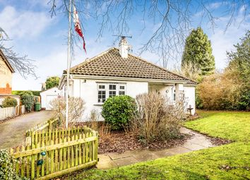 Thumbnail 5 bedroom detached bungalow for sale in Top Road, Kingsley, Frodsham