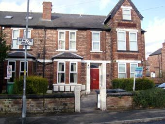Thumbnail 2 bed flat to rent in Atwood Road, Didsbury