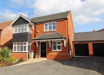 Thumbnail 4 bed detached house for sale in Harris Close, Milton Keynes