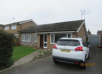 Thumbnail 3 bedroom detached bungalow to rent in West Side Close, Lowestoft