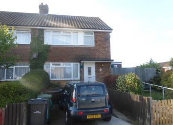 Thumbnail 3 bed semi-detached house for sale in Allen Way, Bexhill-On-Sea